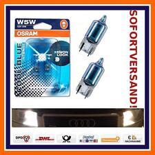 2X OSRAM W5W Cool Blue Intense Xenon Look KENNZEICHEN BELEUCHTUNG Peugeot