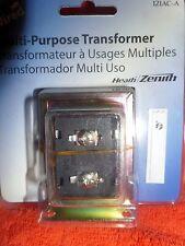 heath zenith wired door chime transformer 121ac a for sale online ebayheath zenith wired door bell doorbell chime multi purpose transformer 121ac a