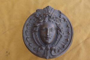 Poignee-de-Porte-Art-nouveau-Cuivre-et-Bronze