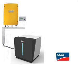 4 68 kw rec photovoltaikanlage bmz lithium speicher mit 6 5 kwh nutzbar 5 2 kwh ebay