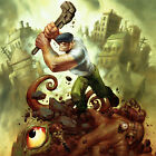 THE GOON Signed ART PRINT Heaps of Ruination ERIC POWELL Comic #3 TPB COVER NEW