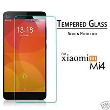 Tempered glass screen protector guard for Xiaomi Mi 4  (2 PIECES)