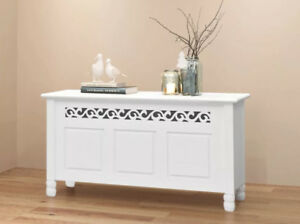 Details About Hall Storage Bench Hallway Trunk Box Chest Shabby Chic Furniture White