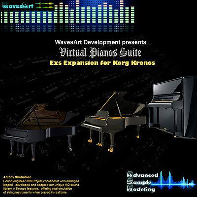 Korg Kronos EXs Sound Library Pianos Suite   eBay
