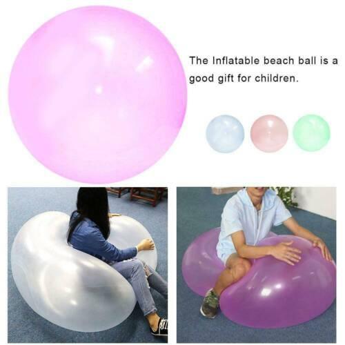 Bolha inflável prático Bola resistente a rasgos-Balão Stretch firma Bolas Brinquedo