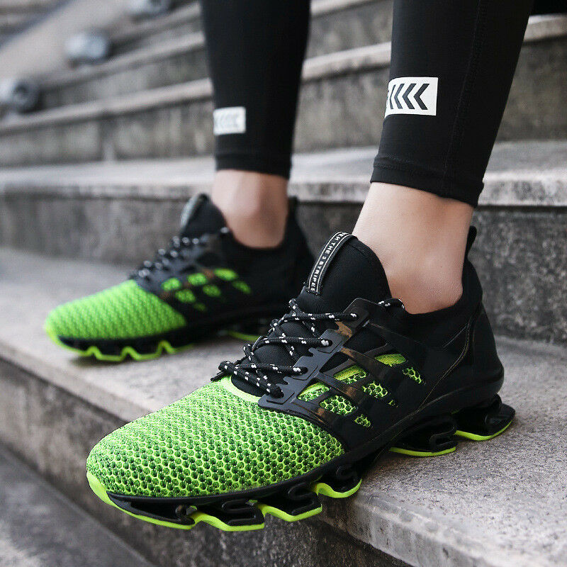New Men's Sneakers Blade Cushion Sole Running Trainner Sports Breathable shoes