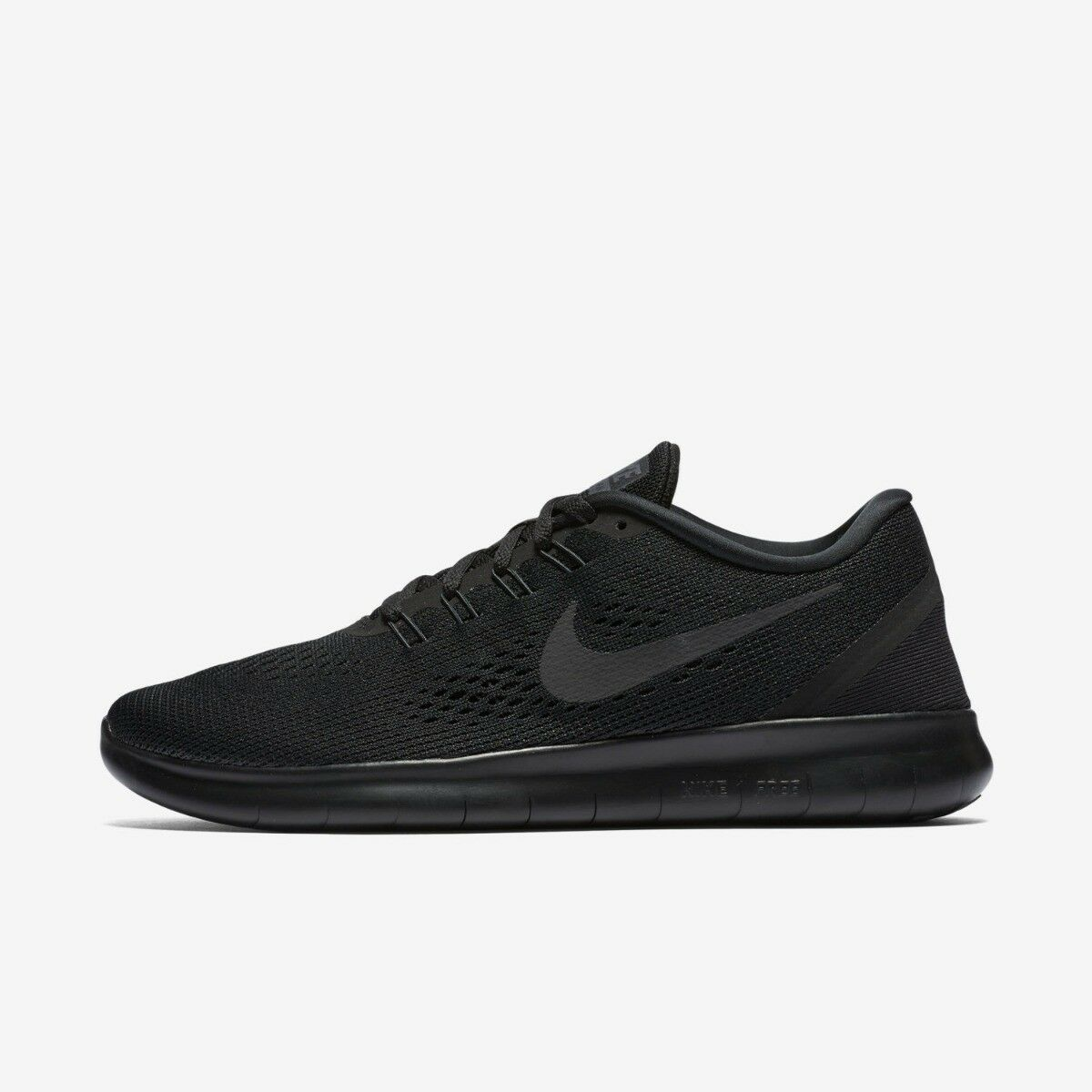 Zapatos promocionales para hombres y mujeres NIKE FREE RUN RUNNING TRAINER SHOE WOMENS SIZE 4 BLACK NIGHT FACTOR 90