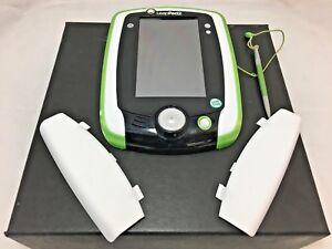 LeapFrog-LeapPad2-Explorer-Green-White-Tablet-Factory-Reset