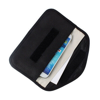 RF Phone Signal Blocker Anti-Radiation Shield Case Pouch for Cellphone Universal