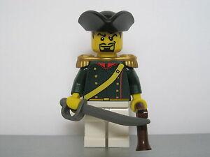 Lego-PIRATES-NAPOLEONIC-WARS-FRENCH-Elite-Infantry-Officer-MINIFIG