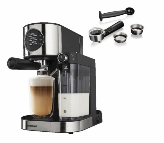 Silvercrest 1470w Espresso Machine With Milk Frother