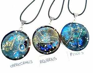necklet-Orgone-Orgonite-pendant-12-signs-Zodiac-stones-and-crystals-Protection