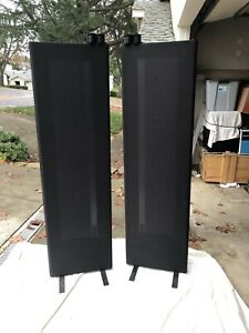 Magnepan 1 6qr Planar Magnetic Speakers Black Pair 1 6 Qr Ebay
