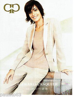 Publicite Advertising 056 2003 Gérard Pasquer Mode Pret à Porter Collectibles