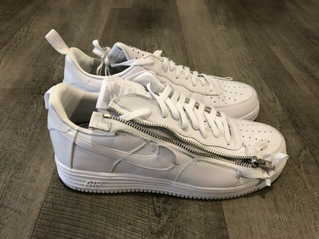 Nike Lunar Force 1 X Acronym '17 Size 13 White AJ6247 100