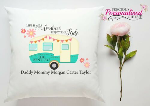 Personalised Caravan Family Life is an adventure Birthday Christmas Gift camp