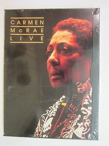 Carmen McRae - Live (DVD, 1999)- BRAND NEW FACTORY SEALED FREE SHIPPING - Deutschland - Carmen McRae - Live (DVD, 1999)- BRAND NEW FACTORY SEALED FREE SHIPPING - Deutschland