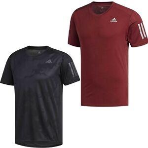 adidas Response Short Sleeve Tee Running tops for Men Grey