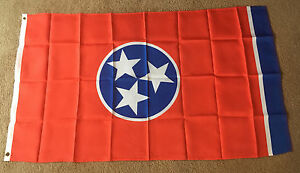 Tennessee state, State flag 3 X 5 ft. polyester 2 Grommet holes - Deutschland - Tennessee state, State flag 3 X 5 ft. polyester 2 Grommet holes - Deutschland