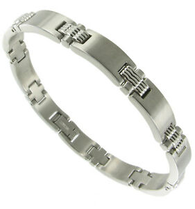 Rochet-Roma-Mens-Stainless-Steel-Link-Men-039-s-Bracelet