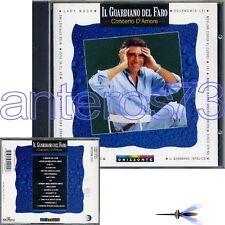"""IL GUARDIANO DEL FARO """"CONCERTO D'AMORE"""" RARO CD 1995 - FUORI CATALOGO"""