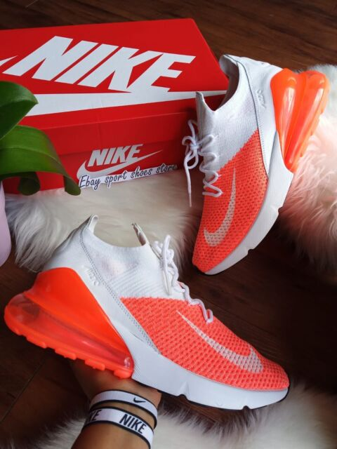 timeless design 9c477 e0fce * Size 10 WMNS Nike Air Max 270 Flyknit Crimson Pulse Ah6803 800 Running