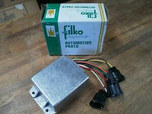 filko ford f0308 2eb ignition control module box yellow. Black Bedroom Furniture Sets. Home Design Ideas