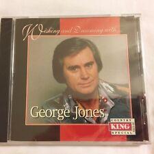 "Brand New CD ~ George Jones ~ Wishing & Dreaming ~""She Thinks I Still Care""~NEW"