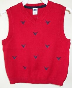 94678dd57e6d New With Tags Janie and Jack Aspen Lodge Red Navy Sweater Vest Boy s ...