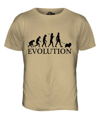 Havanese evolution of man t-shirt homme tee top dog lover cadeau walker walking