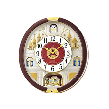 2564fdf34 item 3 Seiko Special Collector's Edition One of 24 Melodies In Motion Music  Wall Clock -Seiko Special Collector's Edition One of 24 Melodies In Motion  Music ...