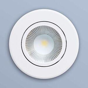 LED Einbaustrahler Einbauspot Einbau Spot Lampe 5W warmweiß rund Weiß L0930E