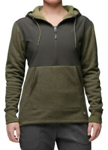 48e6ea30b Details about NWT The North Face Women Sherpa Hooded Fleece Pullover Jacket  Sweater Denali S