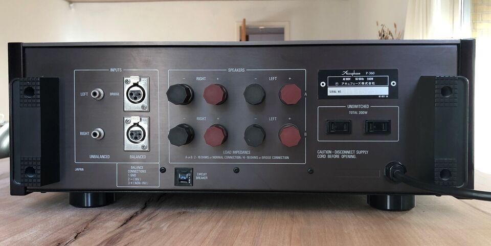 Effektforstærker, Accuphase, P-360