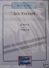 A SEA FANTASY - Brass Quintet Sheet Music Score & Parts NEW