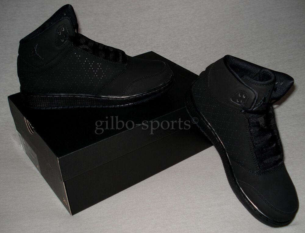 Nike Air Jordan 1 Flight 5 Premium Triple Black Gr. 42 42,5 881434 010 Retro
