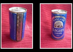 COLLECTABLE-AUSTRALIAN-STEEL-BEER-CAN-CASCADE-LIGHT-LAGER-375ml