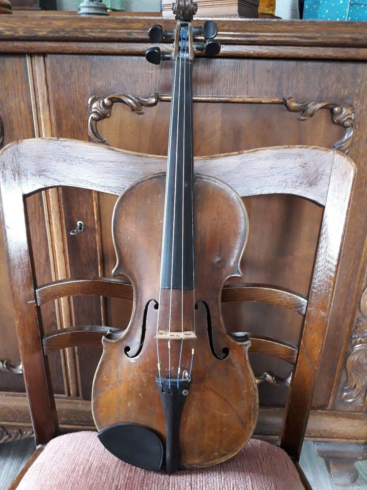 Nr.595sehr schöne alte  violine Handarbeit