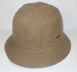 Image is loading New-Kangol-Mens-Wool-Arnold-Trilby-Cap-Hat- 4fb1b3d8081