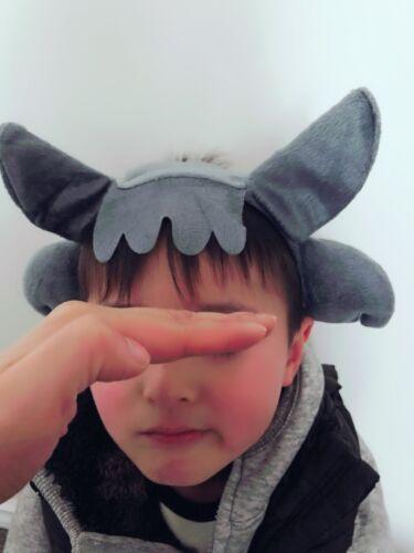 Women Girl Boy Kid Fox Grey Wolf Dog Ear Costume party hair head band Headband