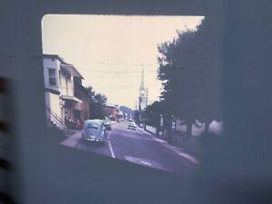 Vintage-1960s-Projector-Slide-Quebec-Village-Vacation-Color-Kodachrome