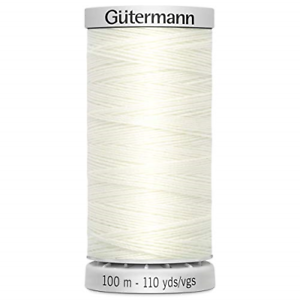 Gutermann Extra-Strong Thread Bridal White 0111 Polyester 5.5 x 2.7 x 2.7 cm