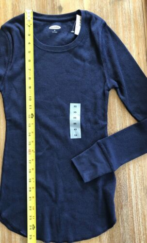 Sizes Colors Mult Old Navy Women/'s Long Sleeve Thermals NWT Waffle Knit