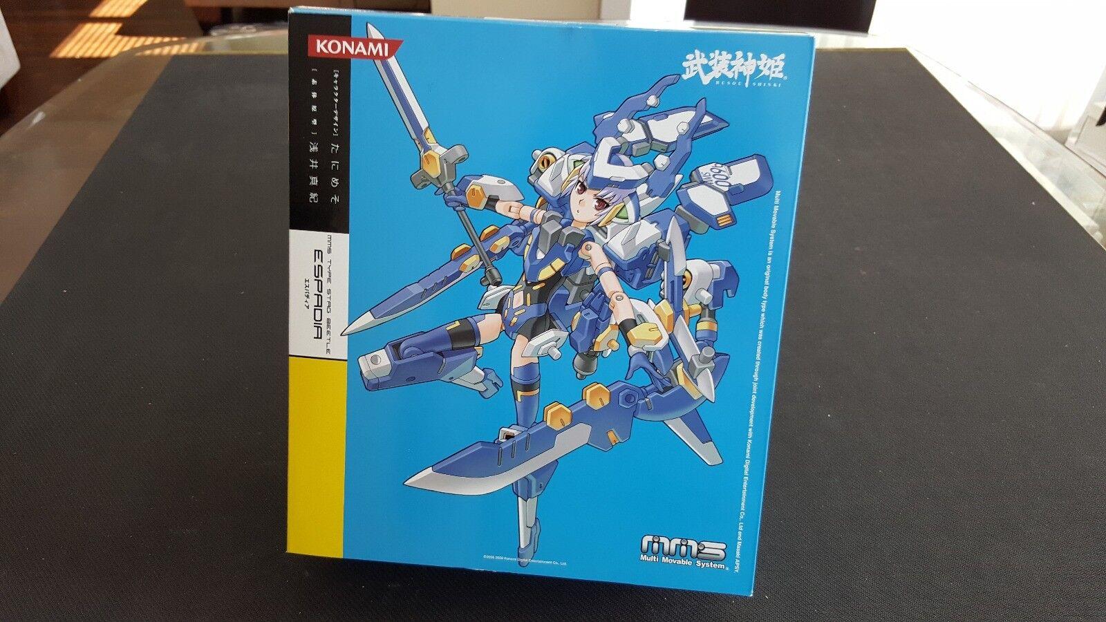 Konami busou shinki - espadia  mms - art hirschkäfer (eröffnung)