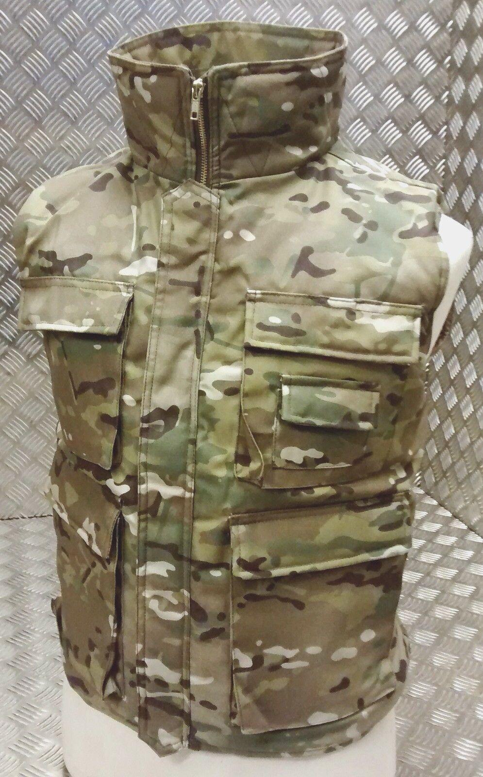 Jäger Action Weste Mtp Multi-Camouflage Multi-Camouflage Multi-Camouflage Taktisch Fischen Weste Alle Größen - Neu 47dd1a