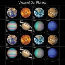 Views of Our Planets USPS Forever Postage STAMPS Sheet 16 Self Adhesive 1