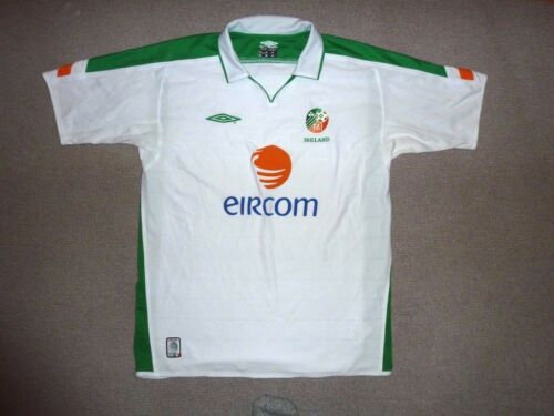 IRELAND Shirt large HOME SS UmbroTrikot Maglia Camiseta IRELAND EIRE 200305
