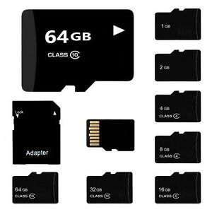 Lot-TF-carte-SD-32-16-8-4-2GB-Flash-Memoire-Avec-Adaptateur