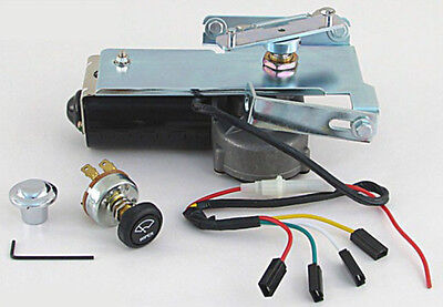 1955 1957 truck 2nd series wiper motor kit with switch. Black Bedroom Furniture Sets. Home Design Ideas