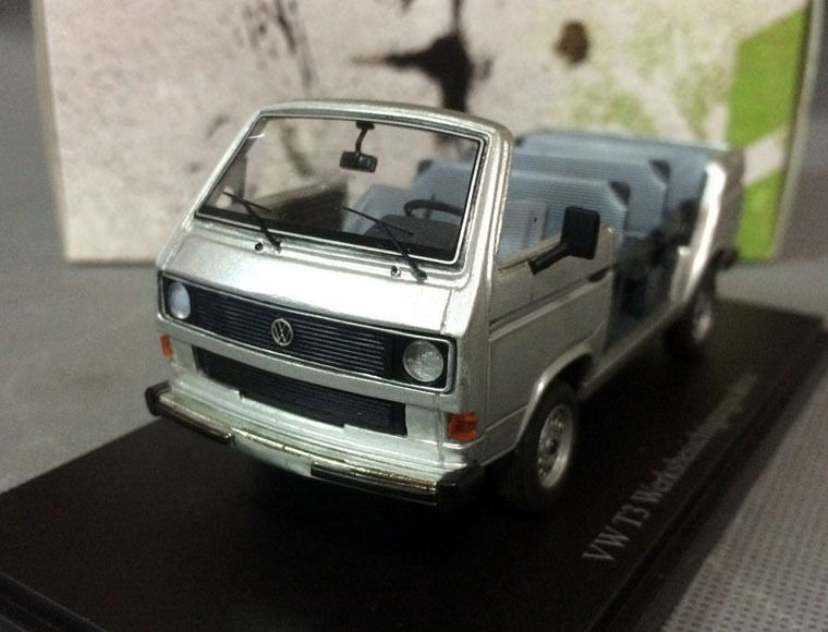 Autocult 06002, 1982 VW T3 werksbesichtigungscabrio, werksbesichtigungscabrio, werksbesichtigungscabrio, projootipo, plata, 1 43 a361c8